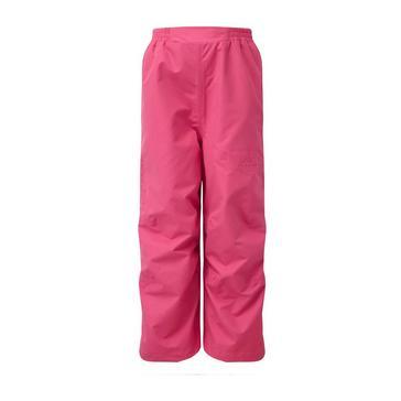 PINK HI-GEAR Typhoon Children's Waterproof Overtrousers