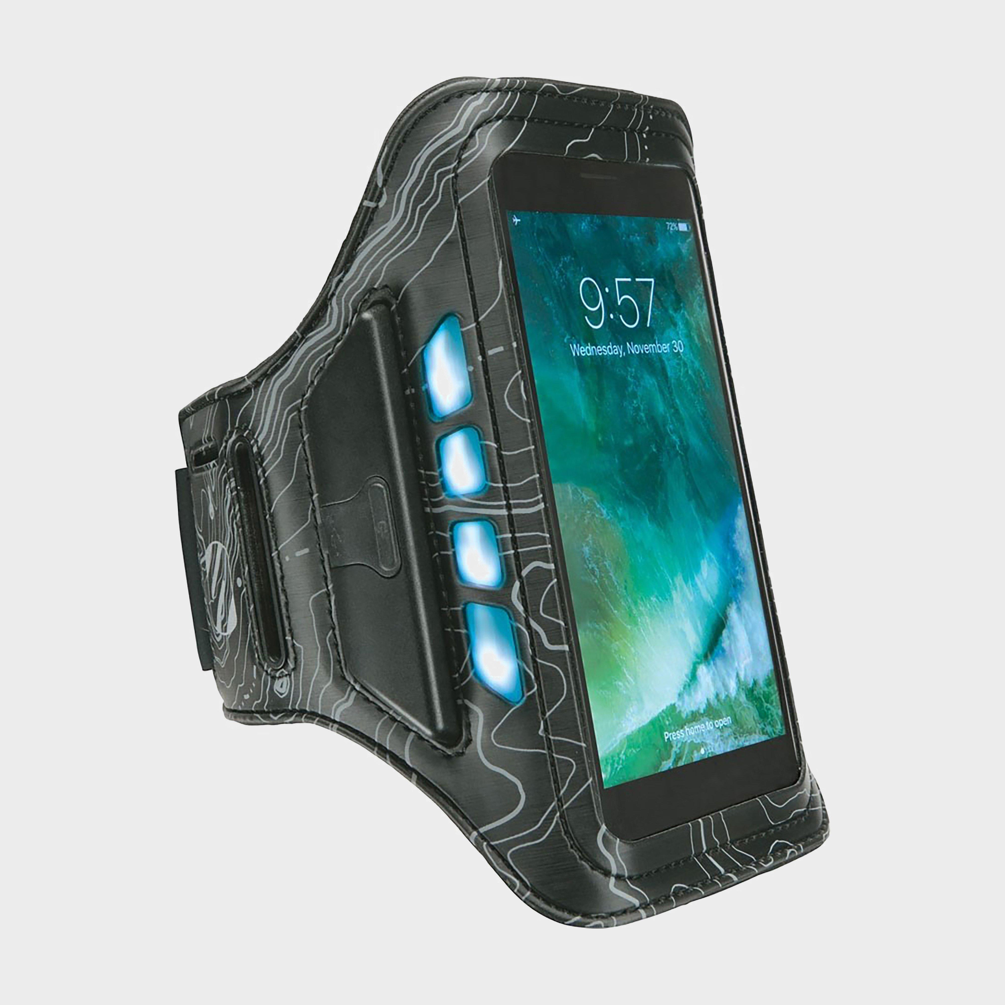 Scosche Scosche litFIT w/LED Armband - Black, Black
