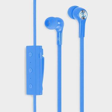 blue Scosche BT100 Wireless Earbuds with Mic + Controls