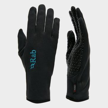 BLACK Rab Women's Phantom Contact Grip Glove