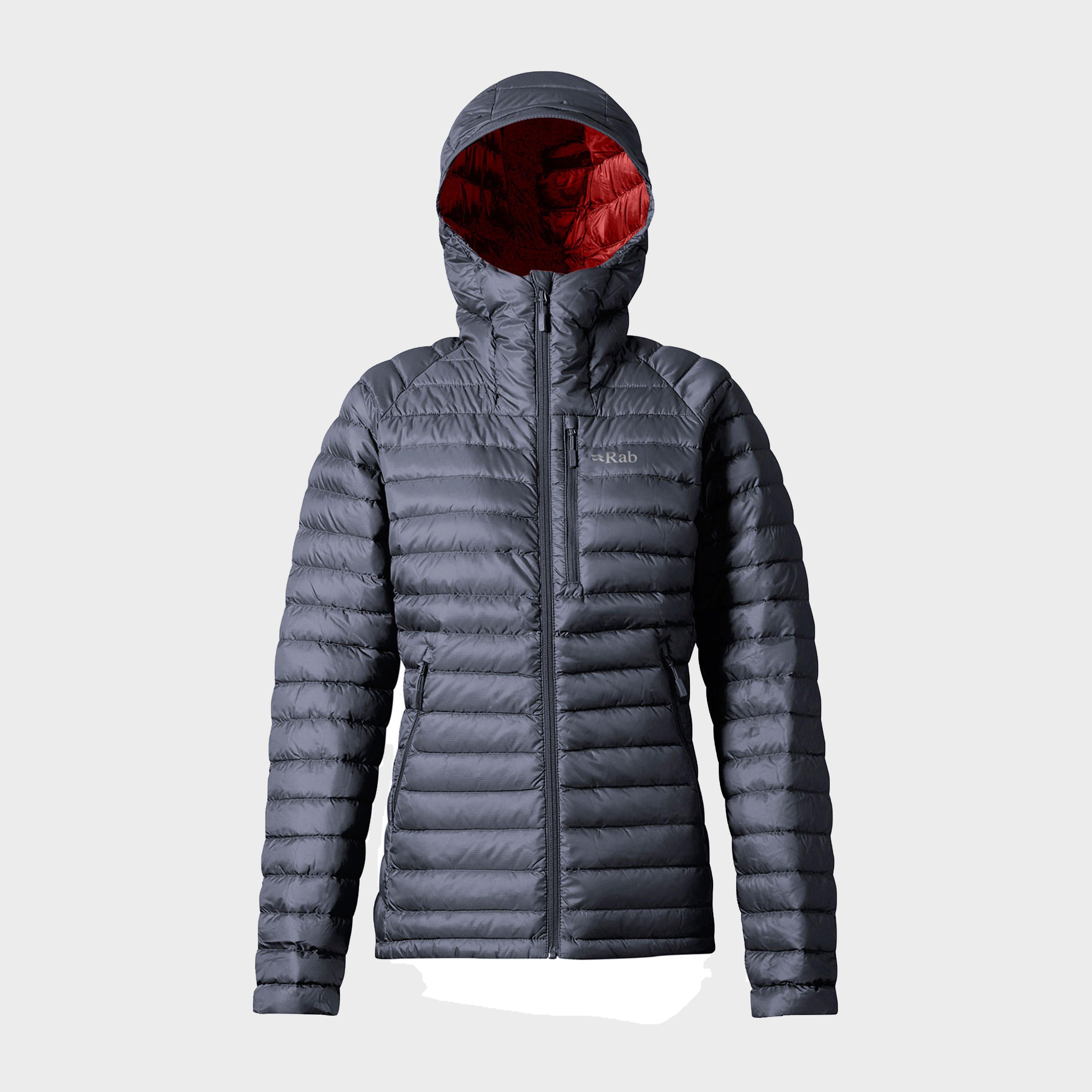 Rab Rab Womens Microlight Alpine Long Down Jacket - N/A, N/A