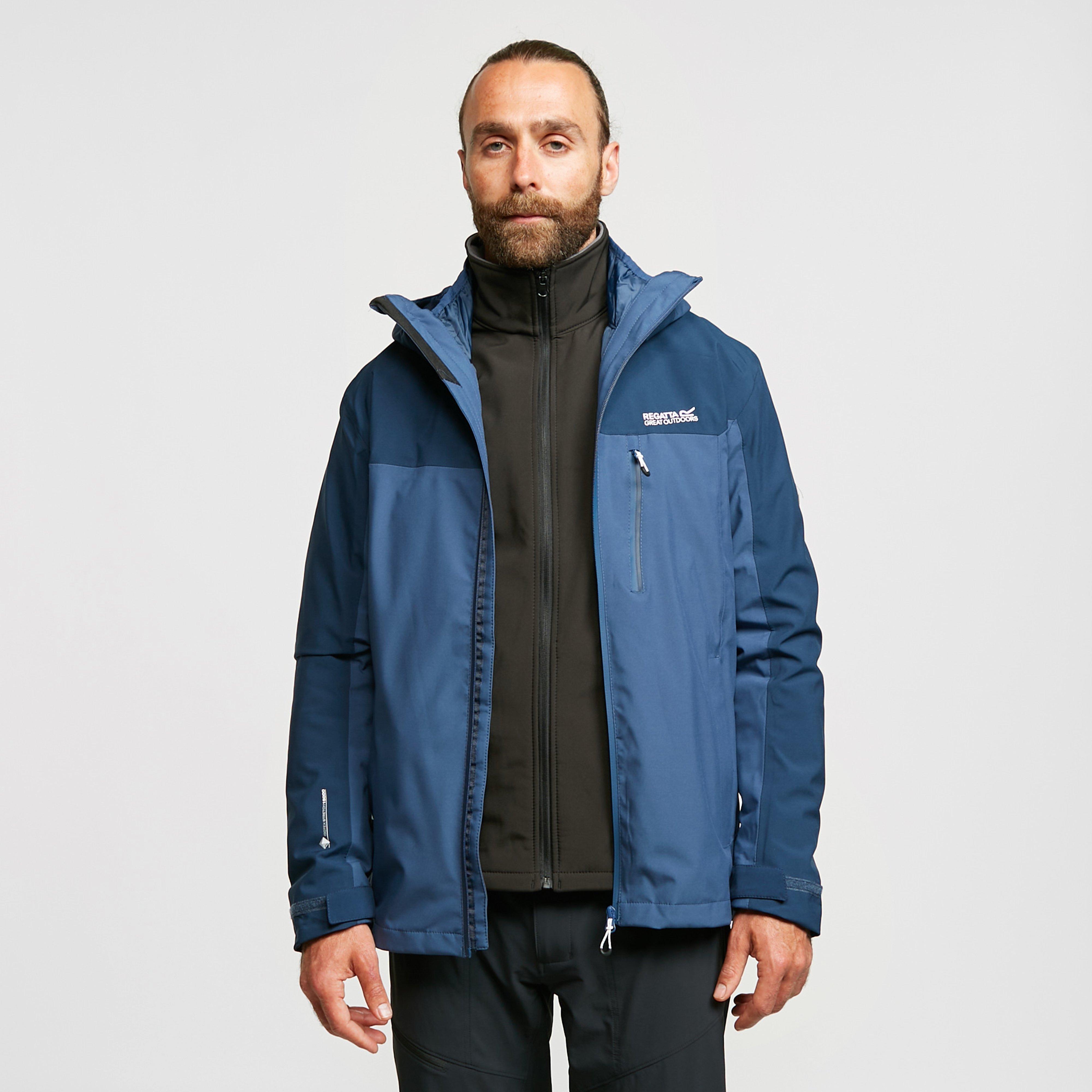 Regatta Men's Wentwood Iv 3-In-1 Jacket - Blue, Blue