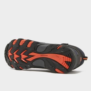 black Hi Tec Kids' Blackout Waterproof Mid Boots