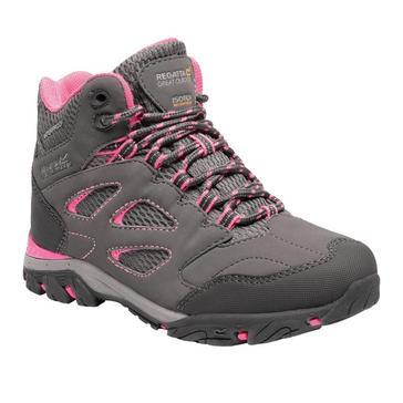 Grey Regatta Kids' Holcombe IEP Mid Boots