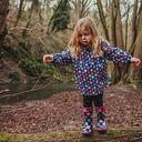 MULTI COTSWOLD Multicoloured Dotty Jnr Pull On Wellington Boots image 2