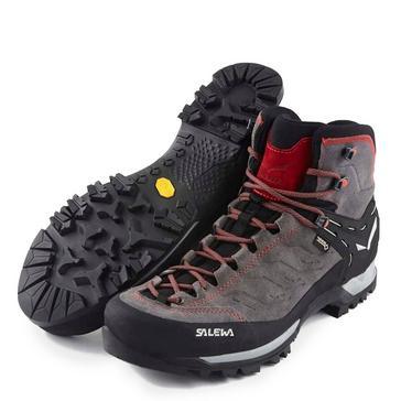 Grey Salewa Men's Mountain Trainer Mid GORE-TEX® Walking Boots