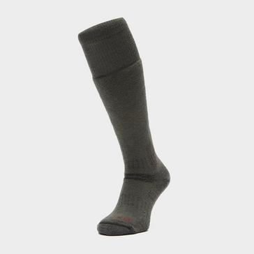 Green Bridgedale Explorer Heavyweight Merino Endurance Boot Sock