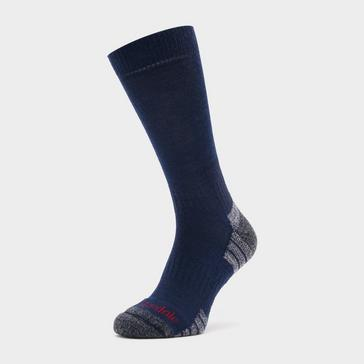 NAVY Bridgedale Men's Hike Lightweight Merino Endurance Boot Socks