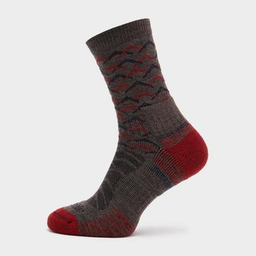 Brown Bridgedale Men's Hike Lightweight Merino Endurance Ankle Socks