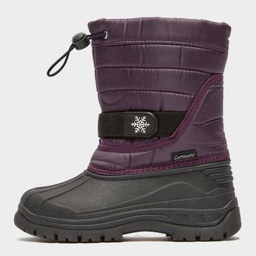Purple COTSWOLD Kids' Icicle Snow Boot