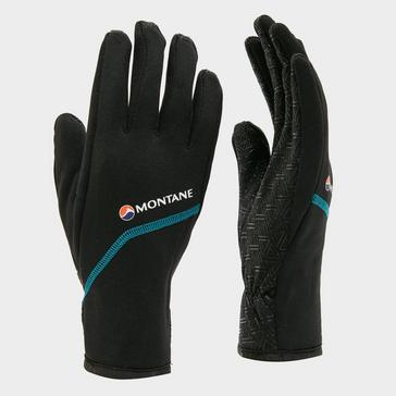 Black Montane Women's Power Stretch Pro Gloves