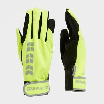 Yellow Shires Equi Flector Riding Glove