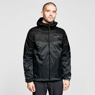 BLACK FREEDOMTRAIL Men's Tempest Waterproof Jacket