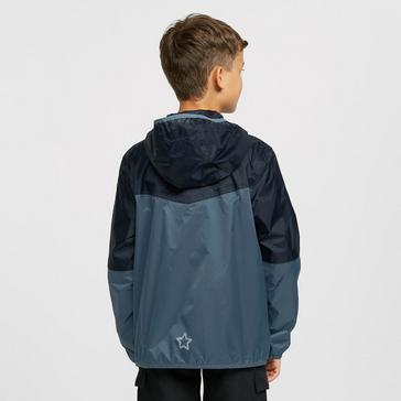 Blue FREEDOMTRAIL Kids' Tempest Waterproof Jacket