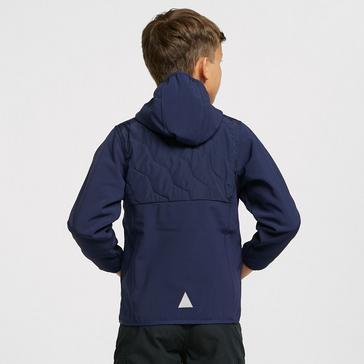 Navy HI-GEAR Kids' Bradwell Hybrid Jacket