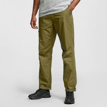 Khaki HI-GEAR Men's Nebraska II Walking Trousers