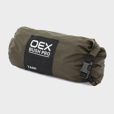 Khaki OEX Bush Pro Tarp