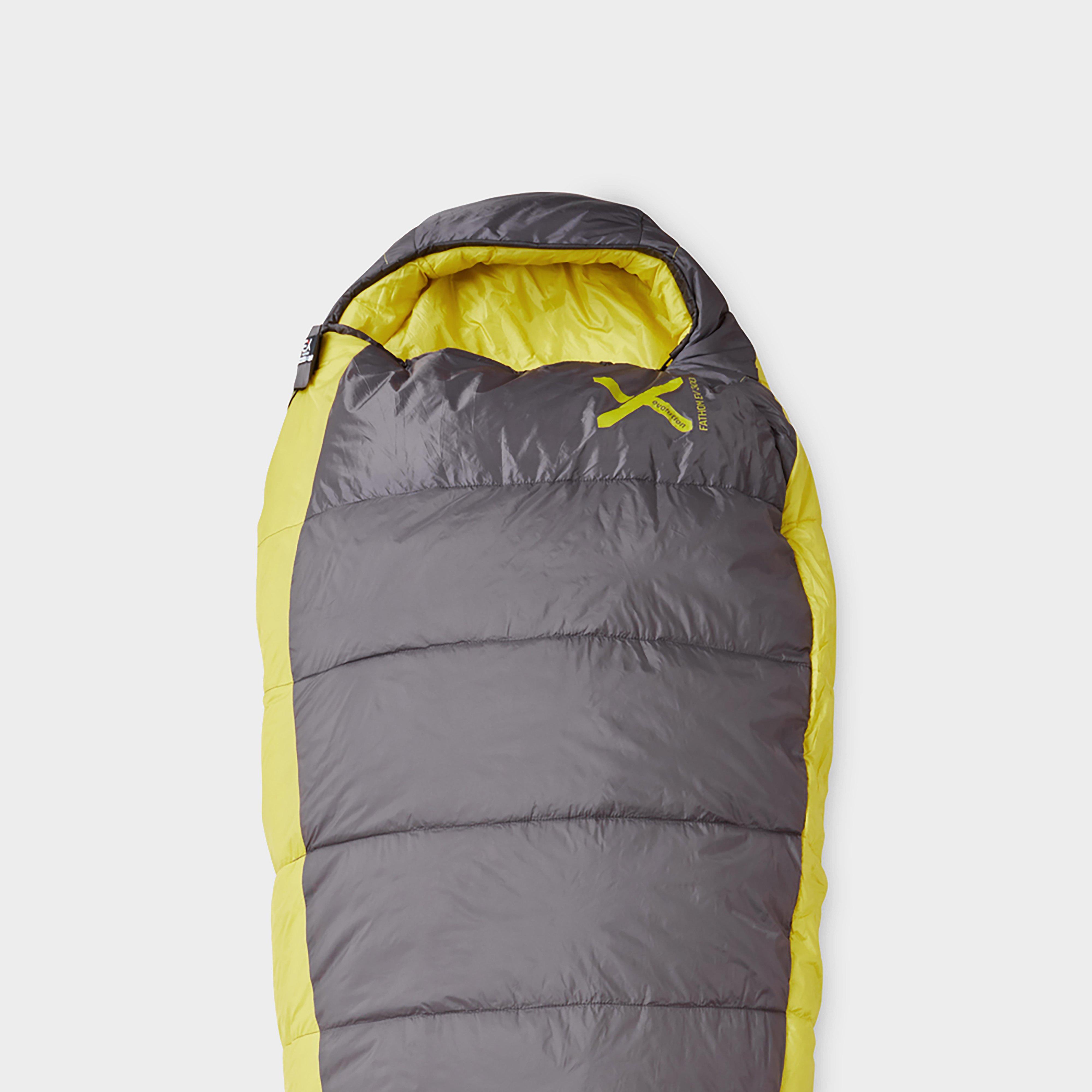 Oex Fathom Ev 300 Sleeping Bag - Yellow/Black, Yellow/Black