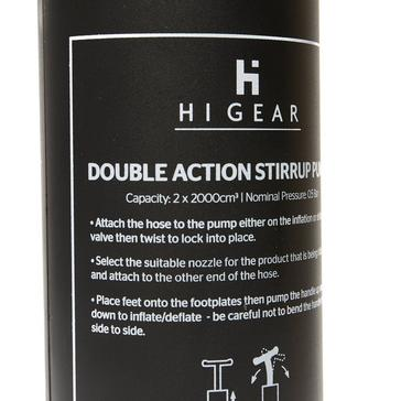 Black HI-GEAR Stirrup Pump (2L)