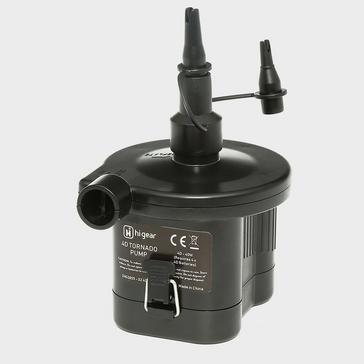 Black HI-GEAR 4D Tornado Pump