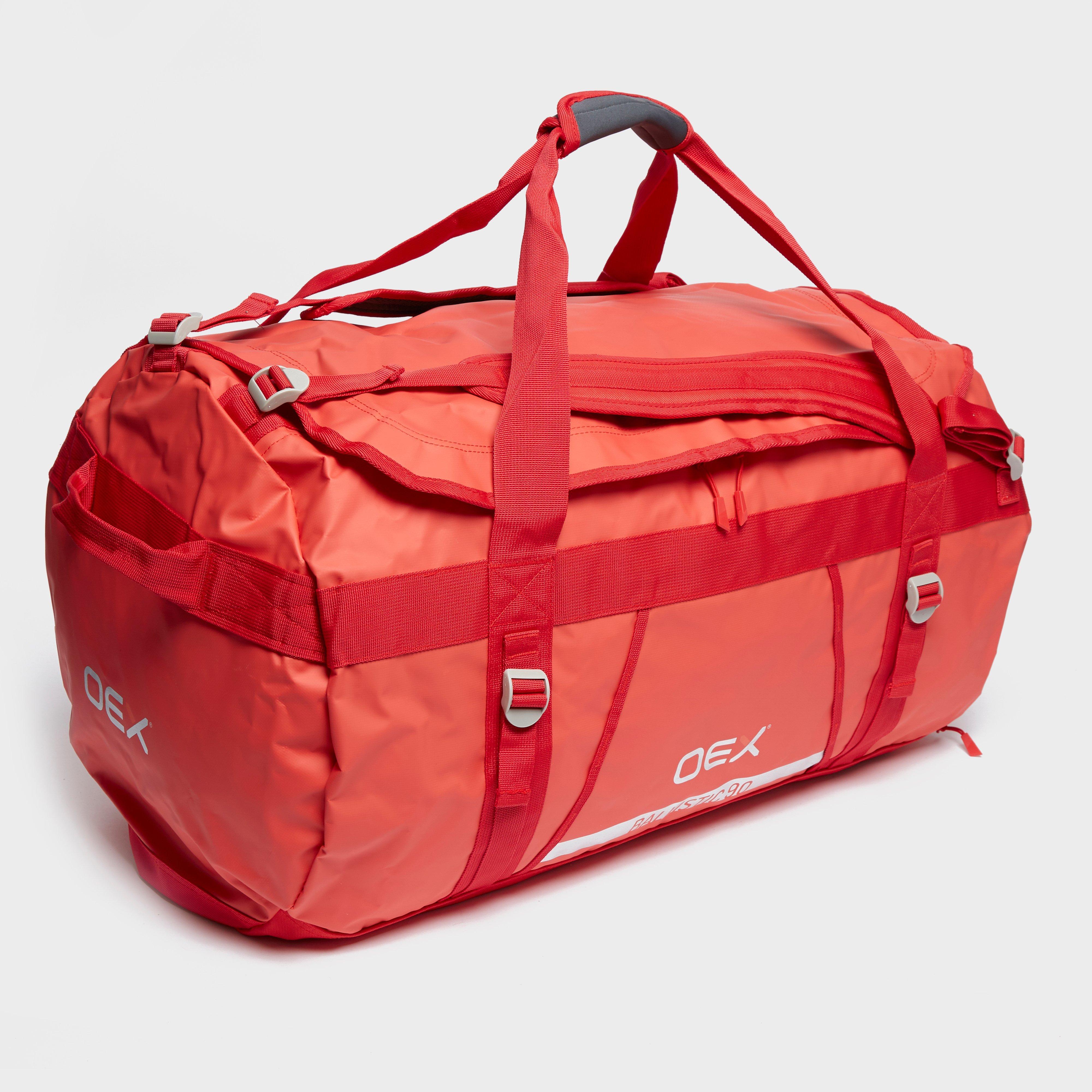 Oex Ballistic 90L Cargo Bag - Red/Cargo, Red