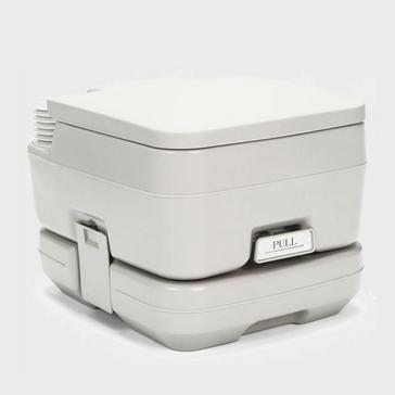 White HI-GEAR Portable Flush Toilet