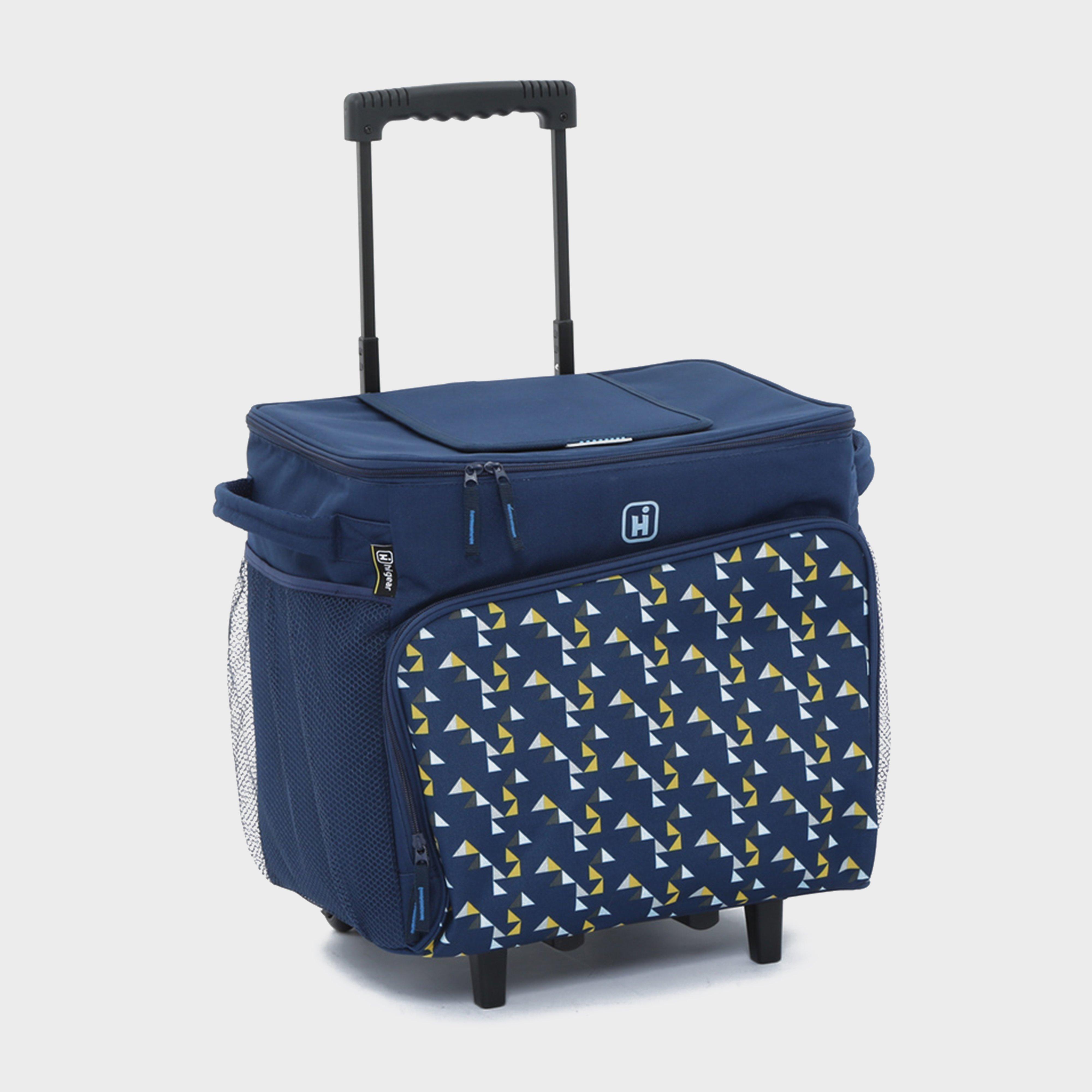 Hi-Gear Hi-Gear Delta Wheeled Cool Bag (40L) - Navy, Navy