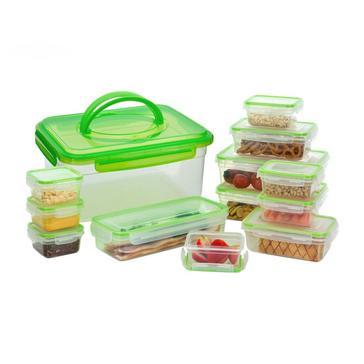 GREEN HI-GEAR 13 Piece Compact Food Storage Set