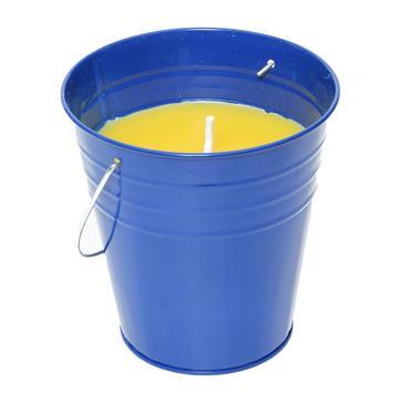 Blue HI-GEAR Citronella Bucket Candle