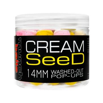 MULTI Munch Cream Seed Washed Out Pop-Ups 14mm