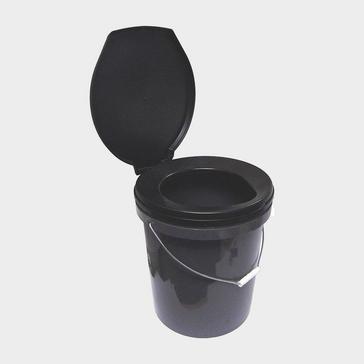 Black HI-GEAR Travel Toilet