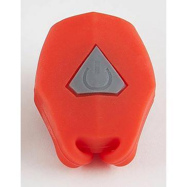orange Luma Mini Bright Silicone Rear Light