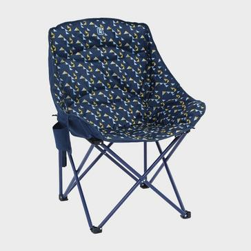 PRINTED HI-GEAR Vegas XL Deluxe Quilted Chair