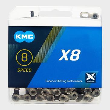 Grey|Grey KMC Chains X8 MTB Bike Chain