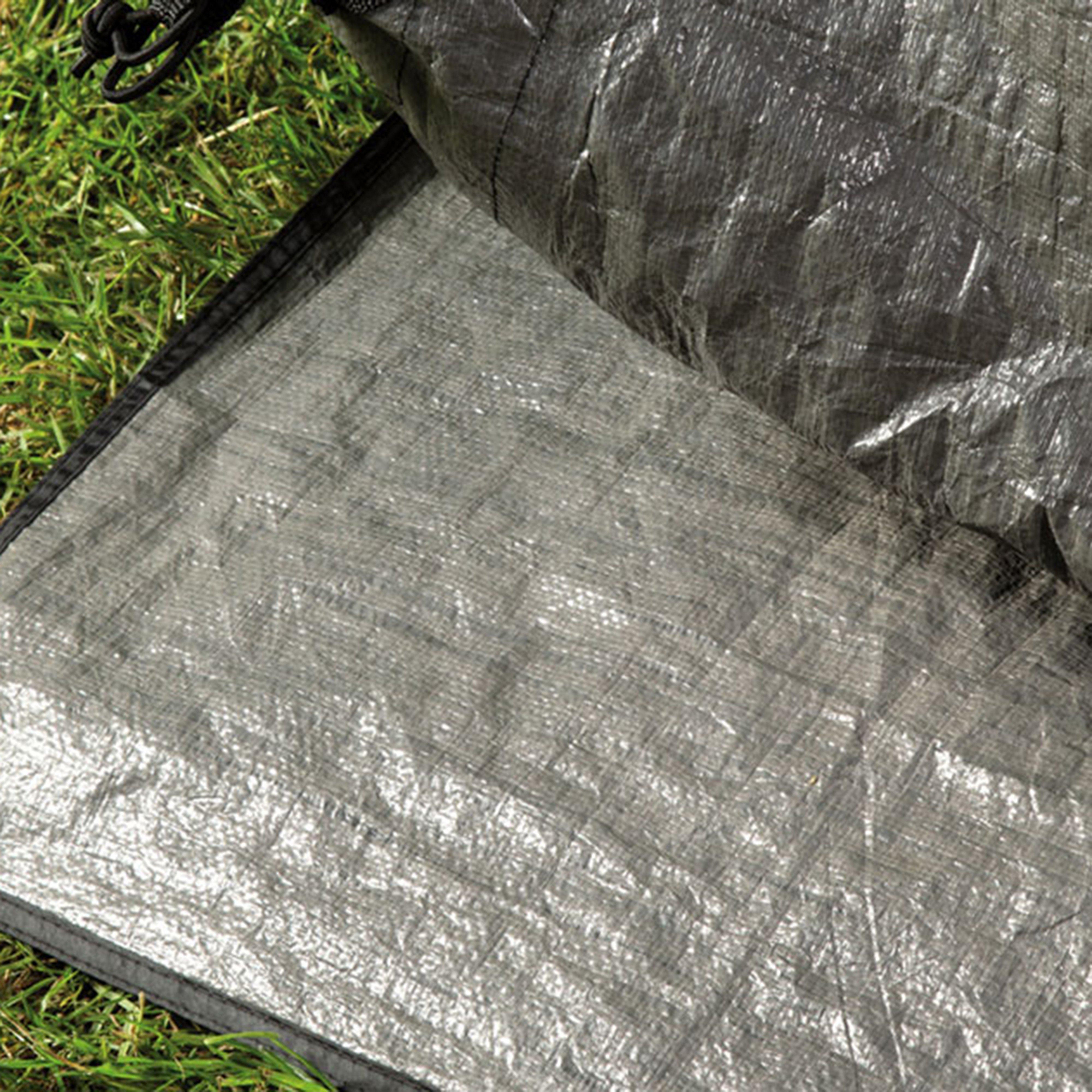 Outwell Sanford 6 Footprint - Grey/Footprint, Grey