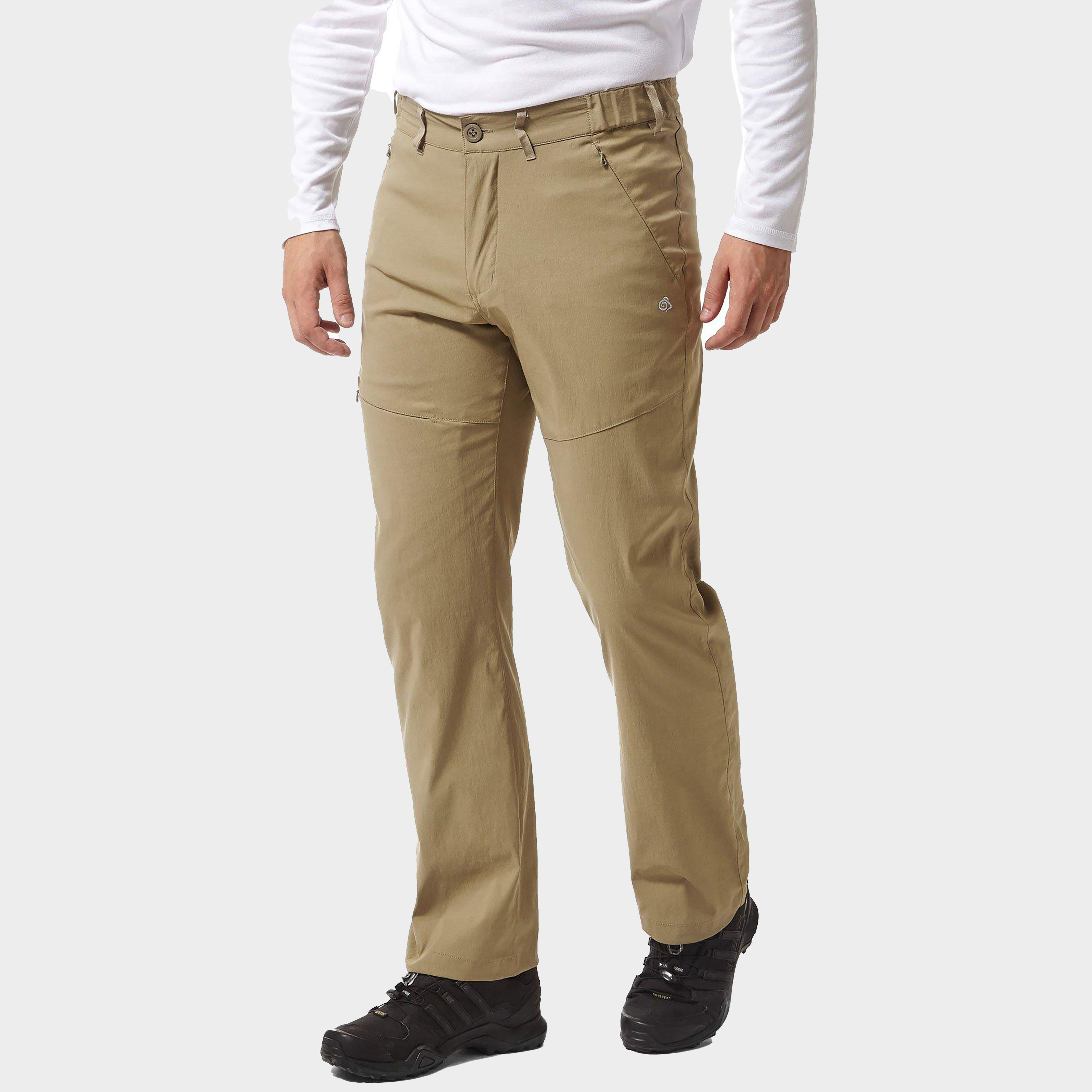 Craghoppers Men's Kiwi Pro Stretch Active Trousers - Beige/T, Beige