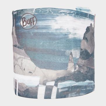 Blue BUFF CoolNet UV+ Flash Logo Neckwear