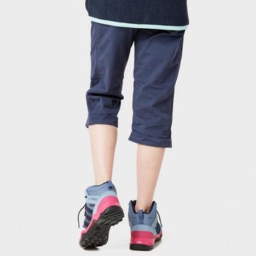 NAVY Weird Fish Kids' Cassia ¾ Length Shorts
