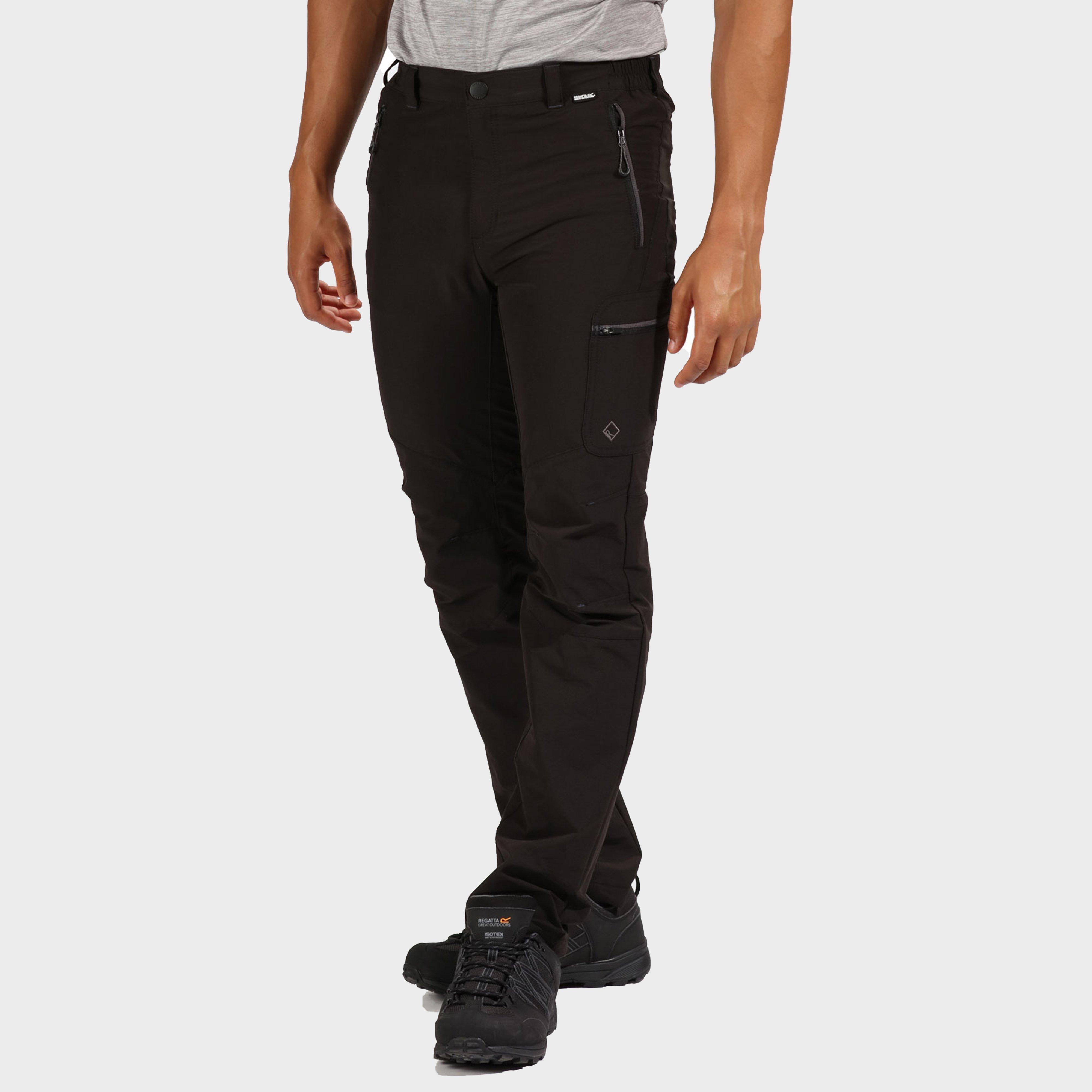 Regatta Men's Highton Trousers - Black/Trousers, Black