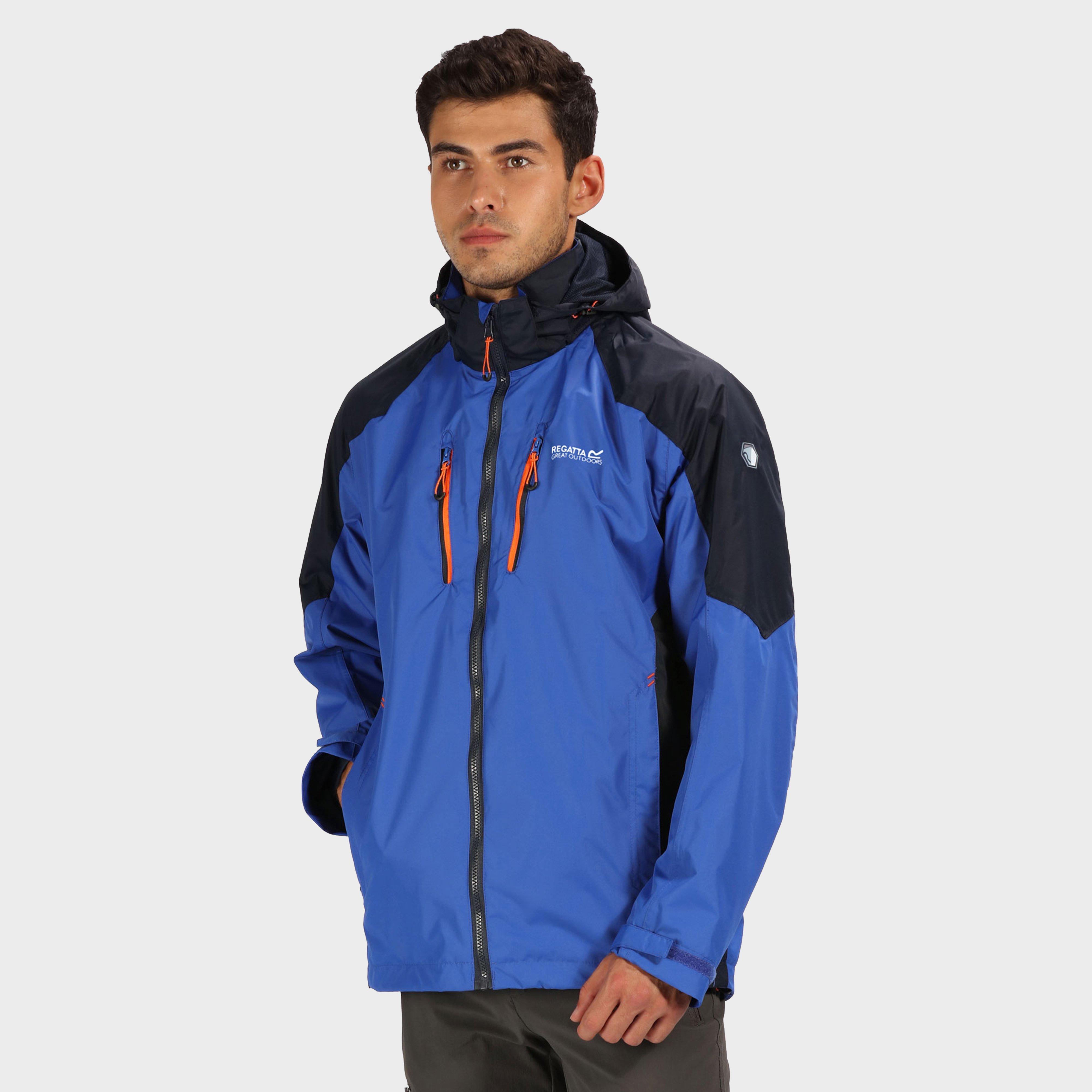 Regatta Regatta Mens Calerdale III Waterproof Jacket - Blue, Blue