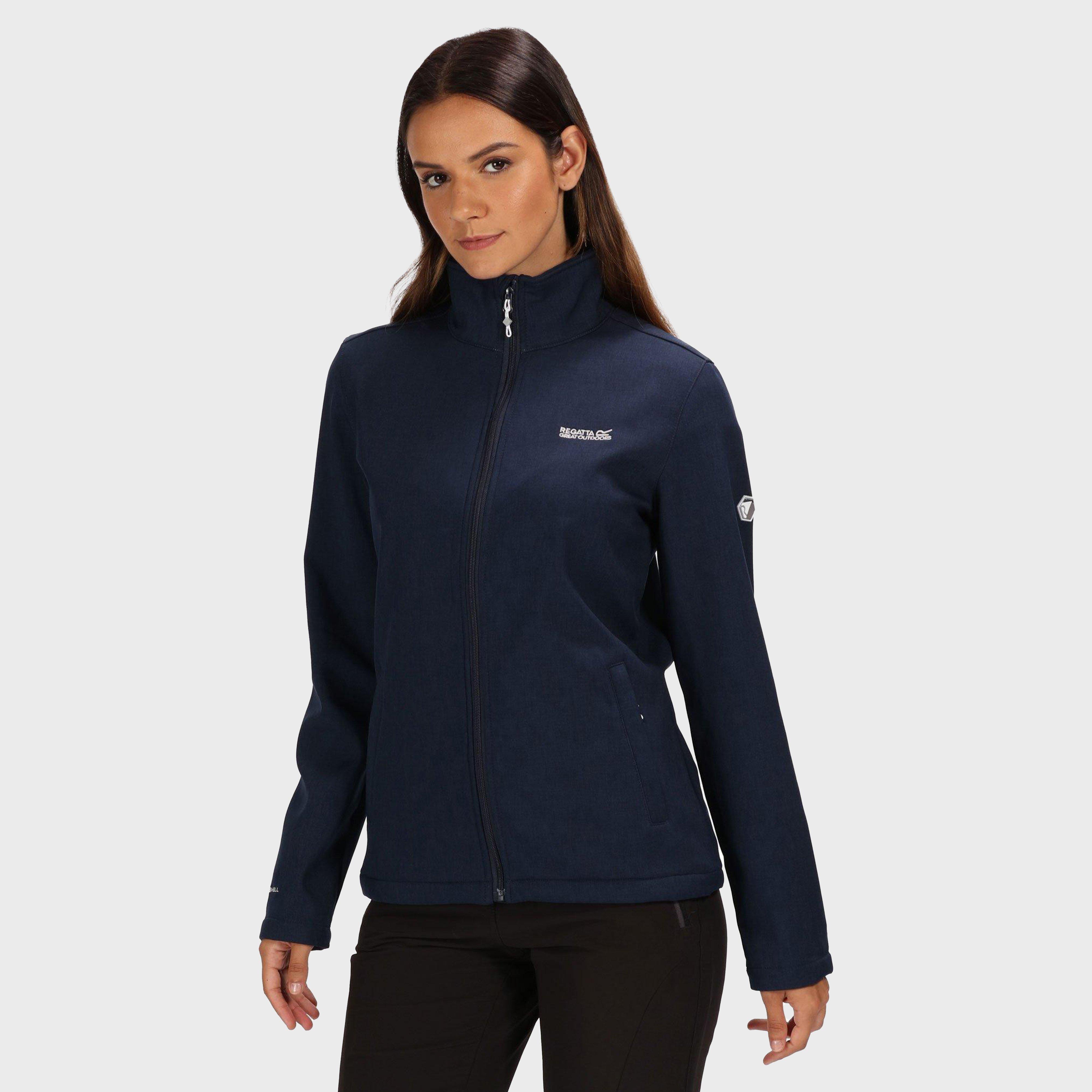 Regatta Regatta Womens Carby Softshell Jacket - Navy, Navy