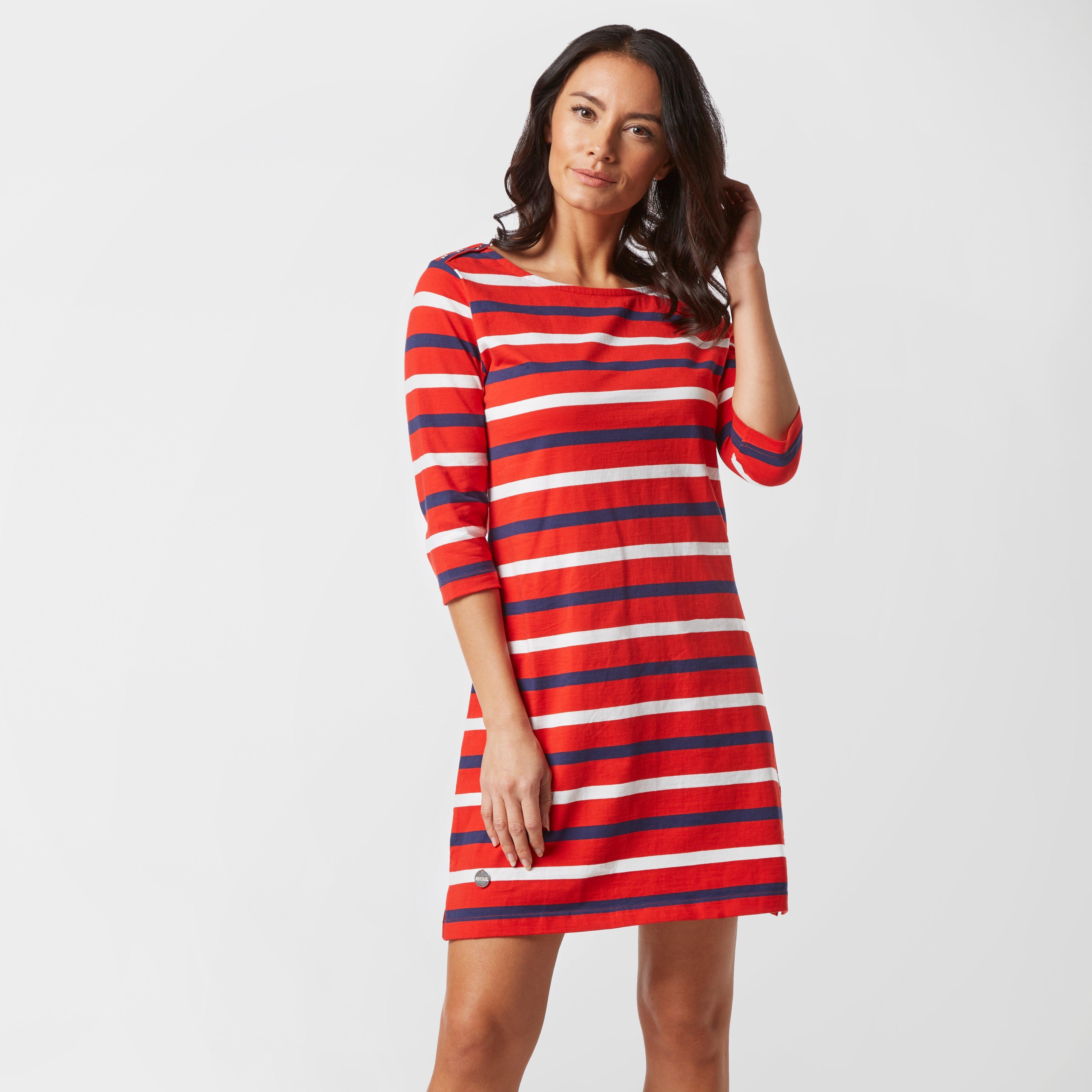 Regatta Regatta Womens Harlee Striped Dress - Red, Red