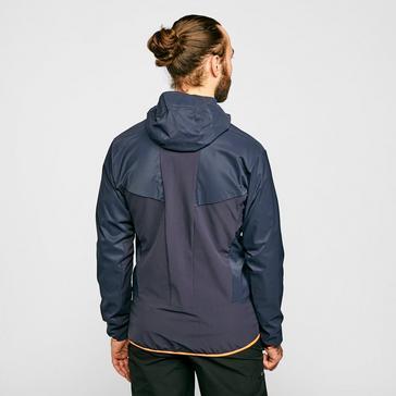Blue Salewa Men's Pedroc Hybrid 3 Jacket