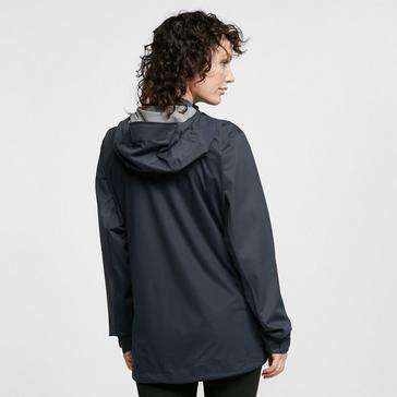 DARK GREY Rab Women's Kinetic Alpine Waterproof Jacket
