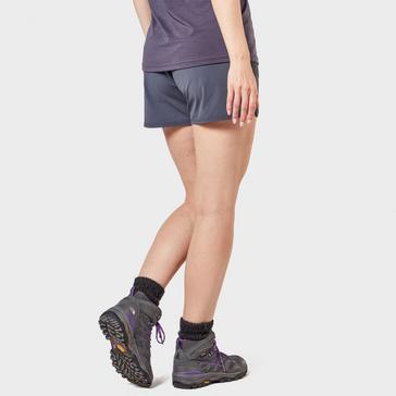 MID GREY Rab Women's Momentum Shorts