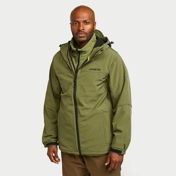 Green Navitas Hooded Soft Shell Jacket 2