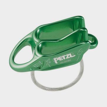 GREEN Petzl Reverso