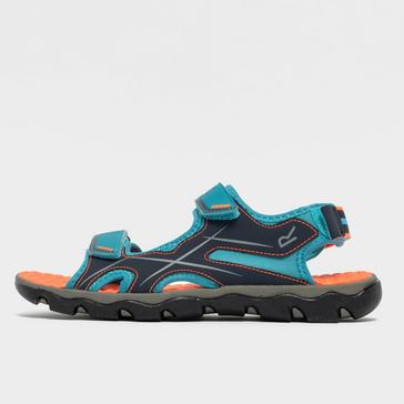 Green Regatta Kids' Kota Drift Jnr Sandals (size 6)
