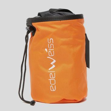 orange Edelweiss Chalk Bag