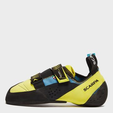 Yellow Scarpa Men's Vapour V Climbing Shoes